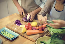 Cooking and Shopping Heading Image